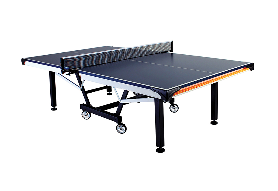 Folding table tennis with ball storage sharper image - Folding table tennis tables for sale ...