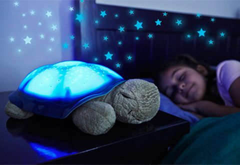 Bluetooth Turtle Star Projector With Soothing Sounds