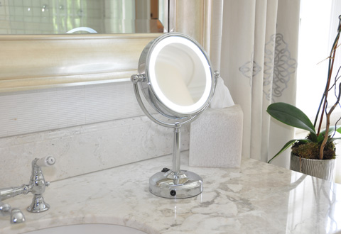 Preferred Rechargeable LED Vanity Mirror @ Sharper Image IM54