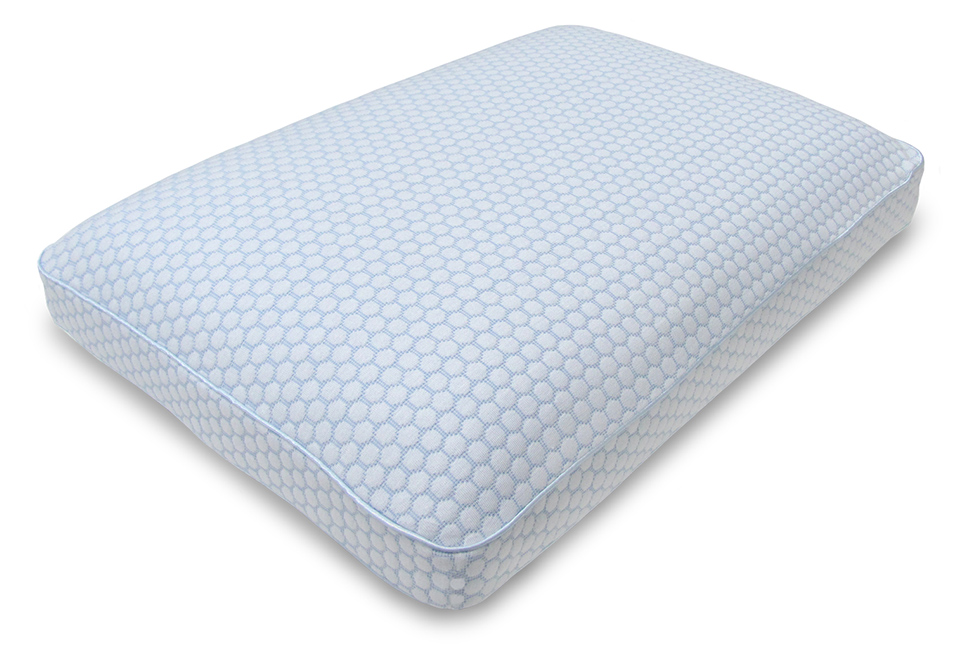 Memory Foam Pillow with Infused Gel @ Sharper Image
