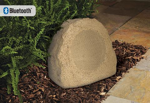 Bluetooth Wireless Rock Speaker Sharper Image