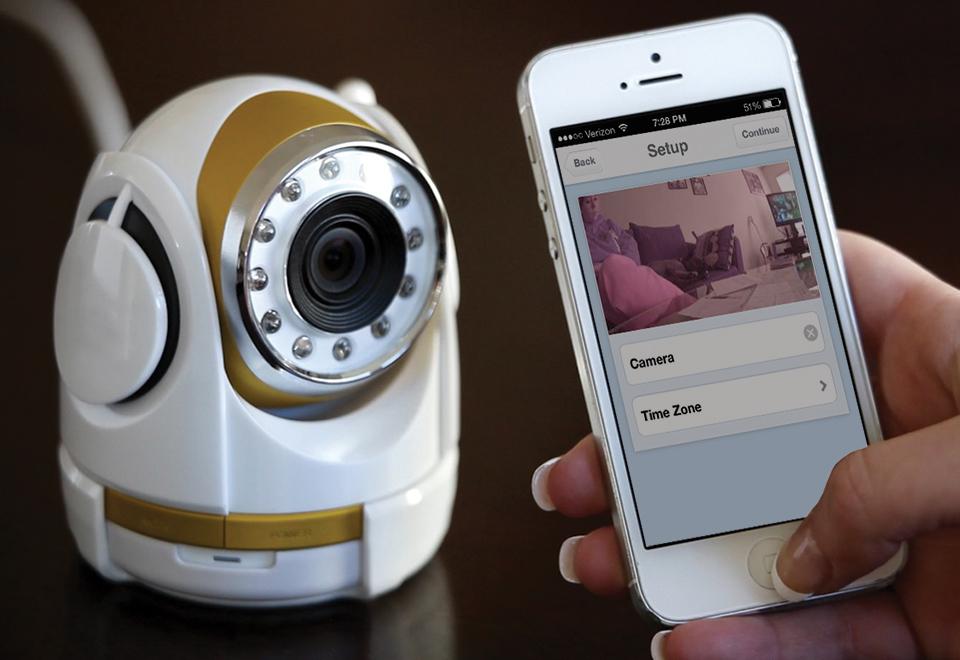 Smartphone Security Camera Sharper Image