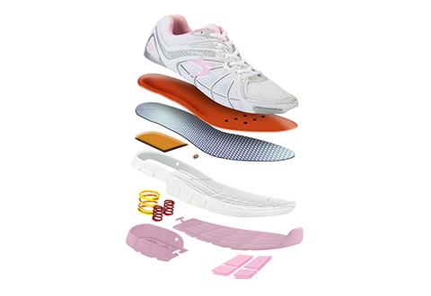 loaded walking shoes sharper image