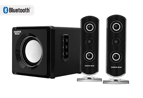 Bluetooth Speaker System With Subwoofer @ Sharper Image