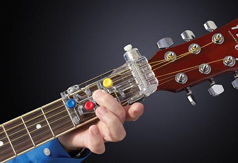 Chordbuddy Guitar Learning System Sharper Image