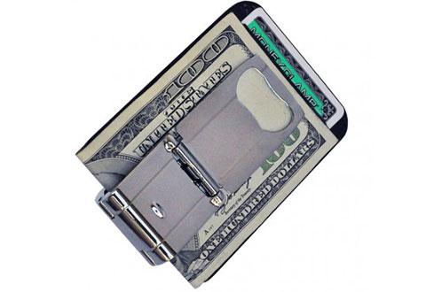 money grip clip with bottle opener sharper image. Black Bedroom Furniture Sets. Home Design Ideas