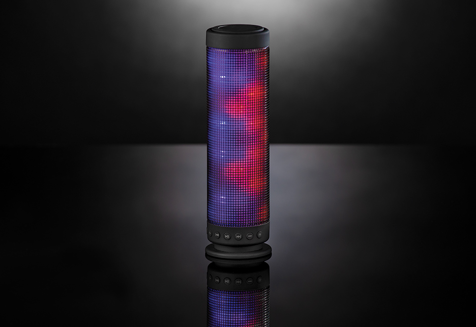speakers that light up. speakers that light up