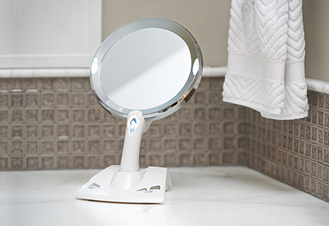 Power Zoom 1x 5x Vanity Mirror Sharper Image