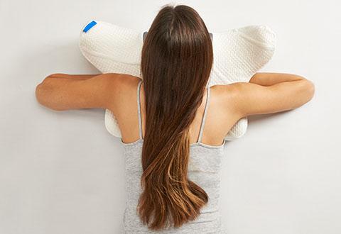 Stomach Sleeper Pillow Sharper Image