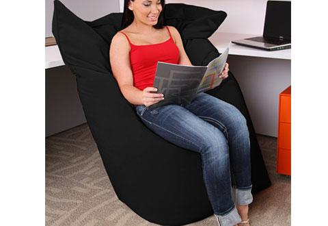 Giant Bean Bag Office Chair Sharper Image