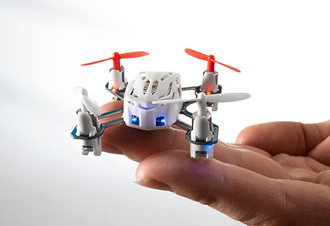 Mosquito Drone With LED Lights Sharper Image