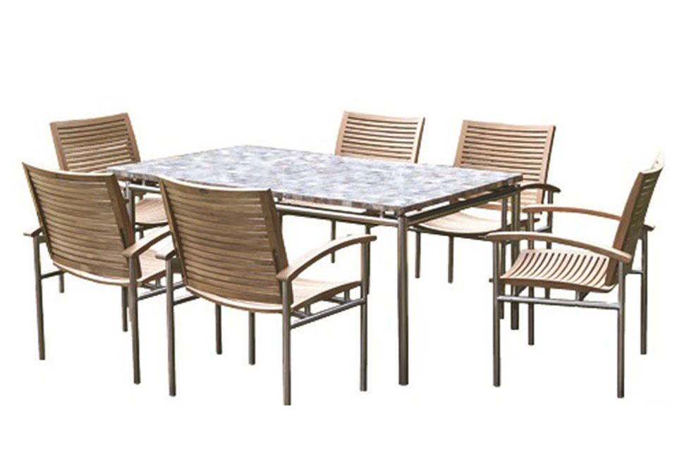 106 deluxe oval patio set cover sharper image for Oval patio set cover