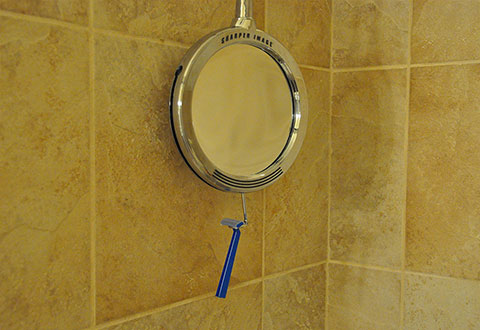 ace enus fogless shower product mirror detail