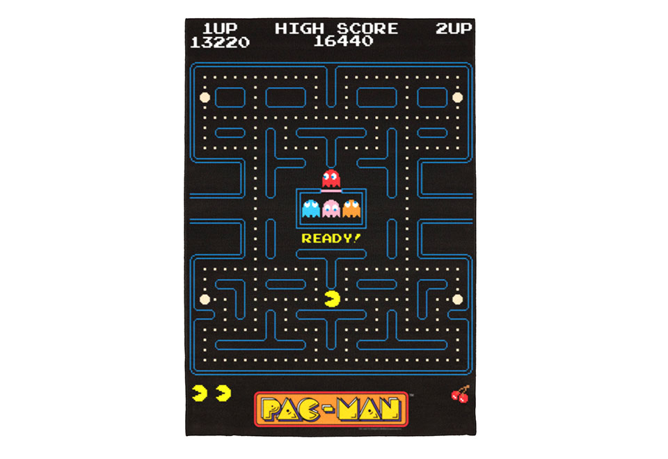 Pac Man Rug Sharper Image