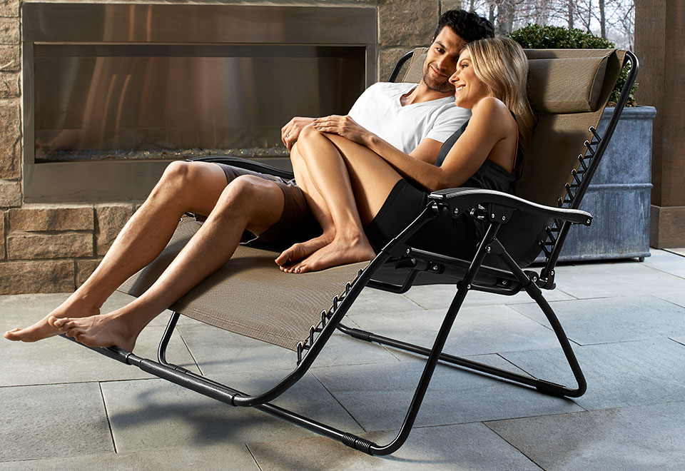 Zero Gravity Loveseat Sharper Image