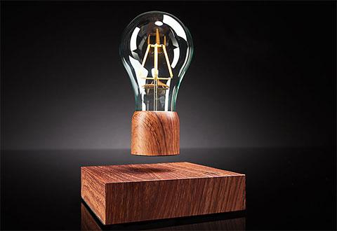 Levitating Light Bulb @ Sharper Image