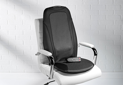 shiatsu massage seat cushion sharper image