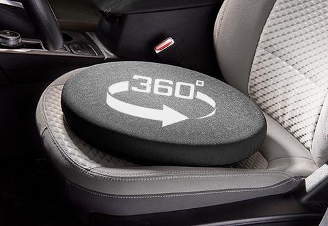360-Degree Swivel Cushion @ Sharper Image